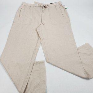 Rafaella comfort straight leg pant linen NEW